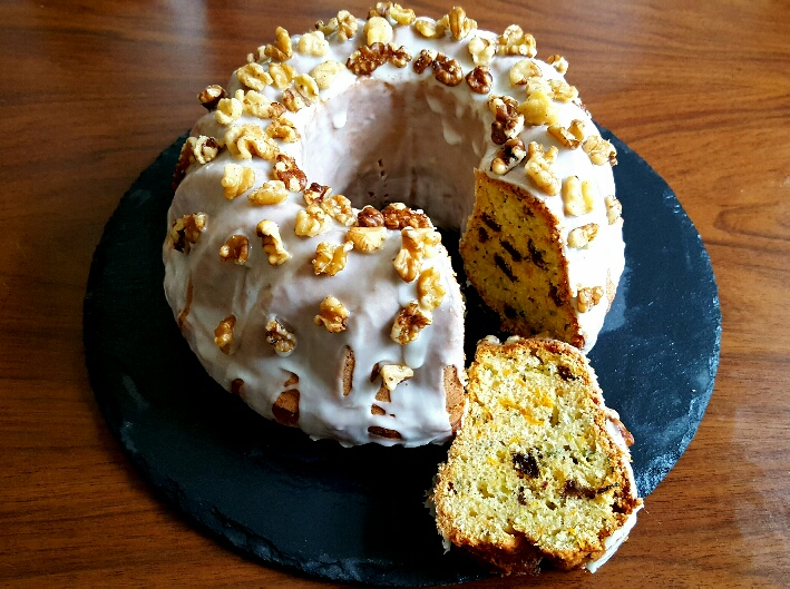 Carrot, Courgette and Orange Bundt Cake by The Fat Foodie