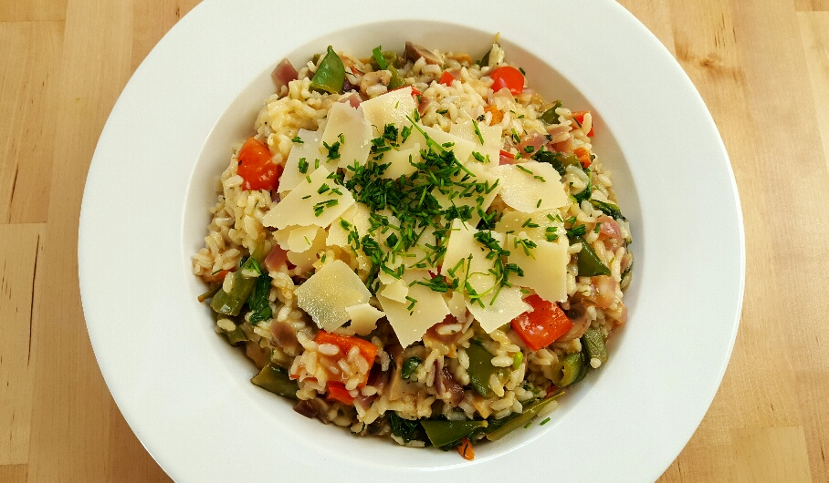 Vegetable Risotto by The Fat Foodie