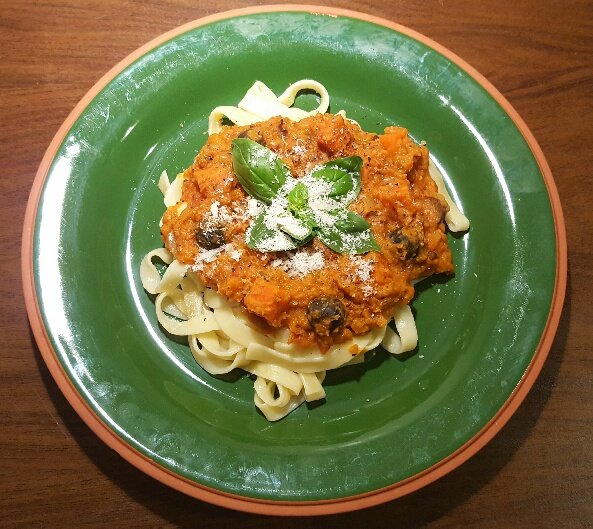 Lentil Ragù by The Fat Foodie