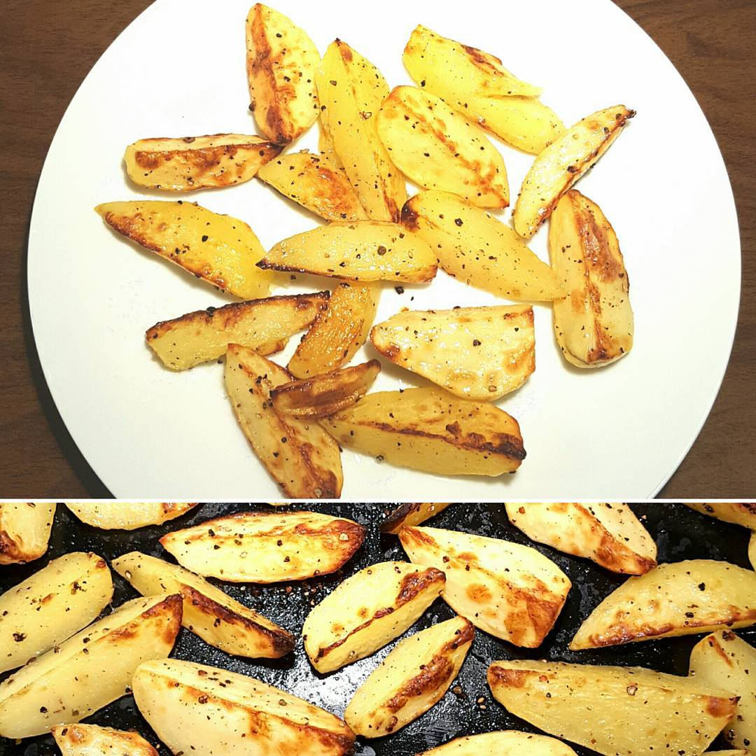 Simple but delicious fresh Potato Wedges httpthefatfoodiecouk20170409potatowedges thefatfoodie potato potatoeshellip