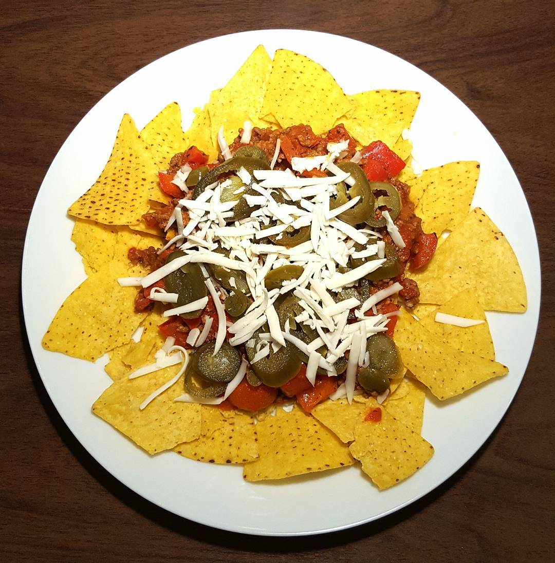 Beef Chilli Nachos! Whats not to love? httpthefatfoodiecouk20170416beefchillinachos thefatfoodie nachoshellip