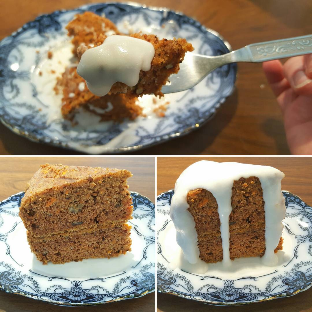 This GlutenFree Carrot and Pecan Cake is just as delicioushellip