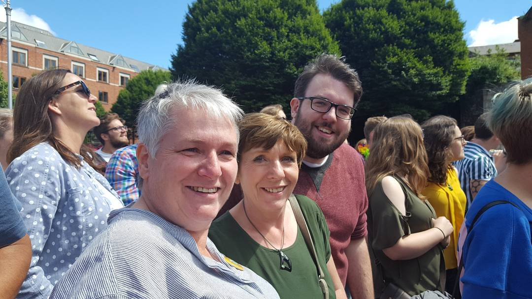 A great day for dublinpride D thefatfoodie dublinpride2017 dublinpride lgbt