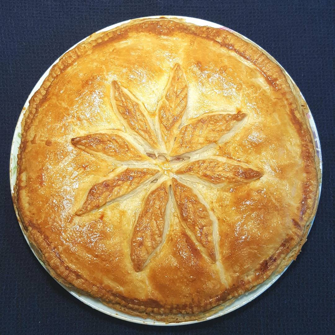 A hearty Corned Beef and Potato Plate Pie thats deliciouslyhellip
