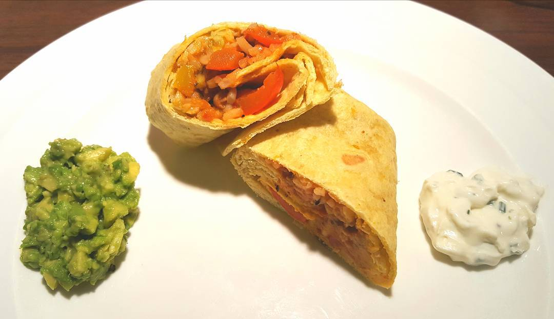 Because sometimes only a Mexican Bean Burrito will do! Linkhellip