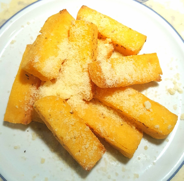 Polenta Chips by The Fat Foodie