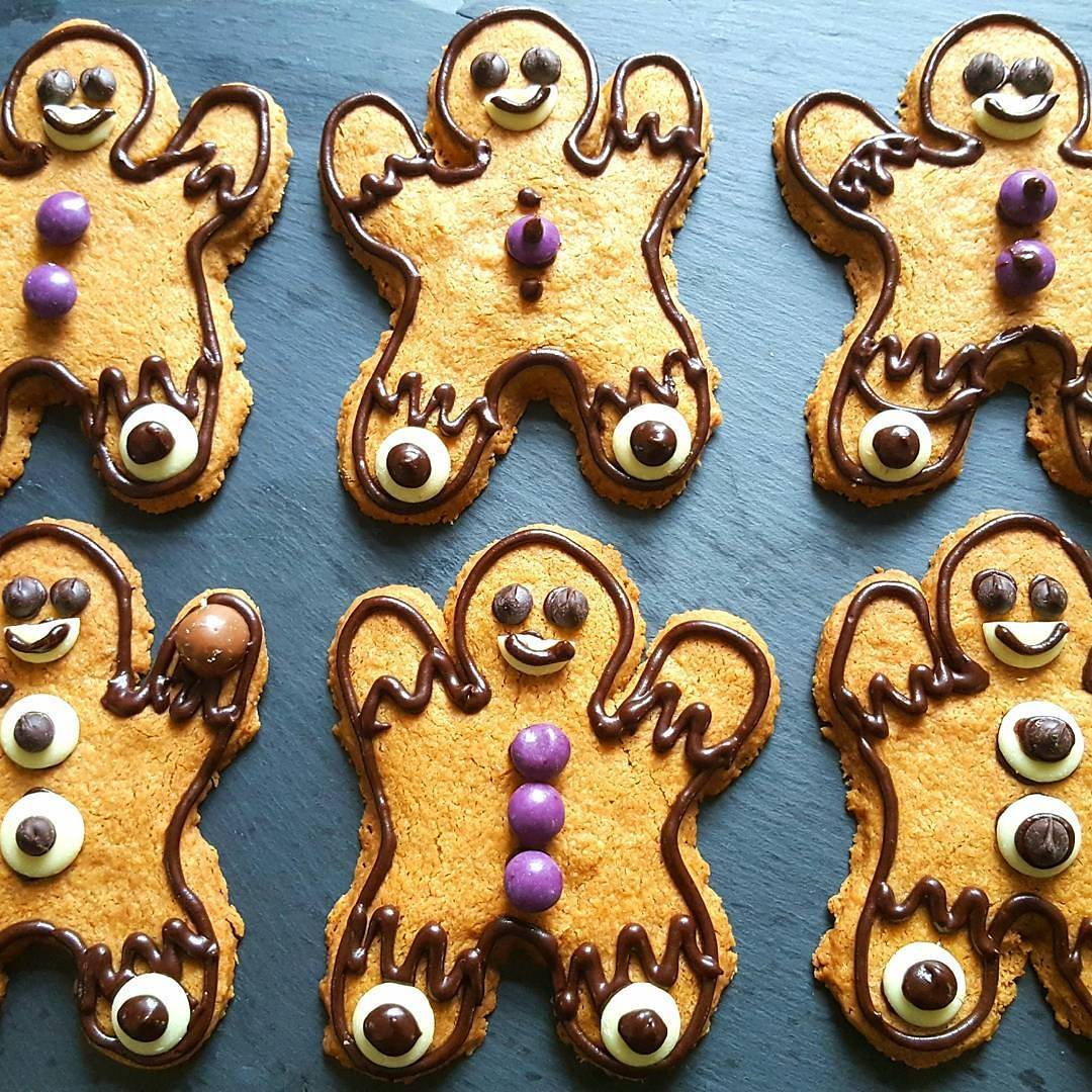 These Gingerbread People are really easy to make and wouldhellip